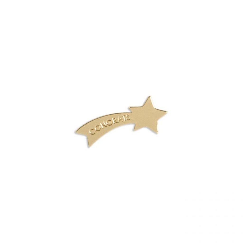 Katie Loxton Wenskaart (gouden pin) - Congratulations