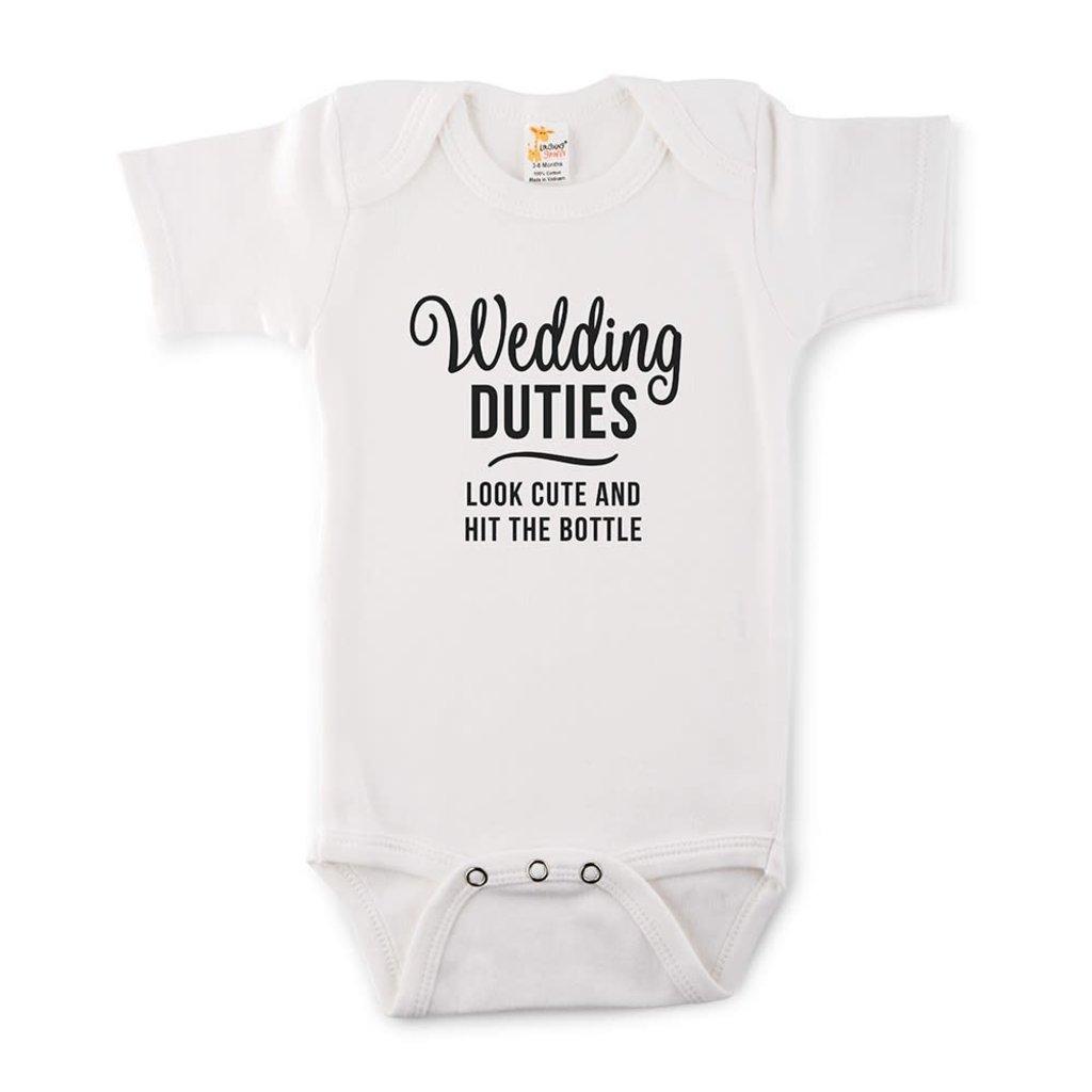 Weddingstar Wedding duties - Baby romper