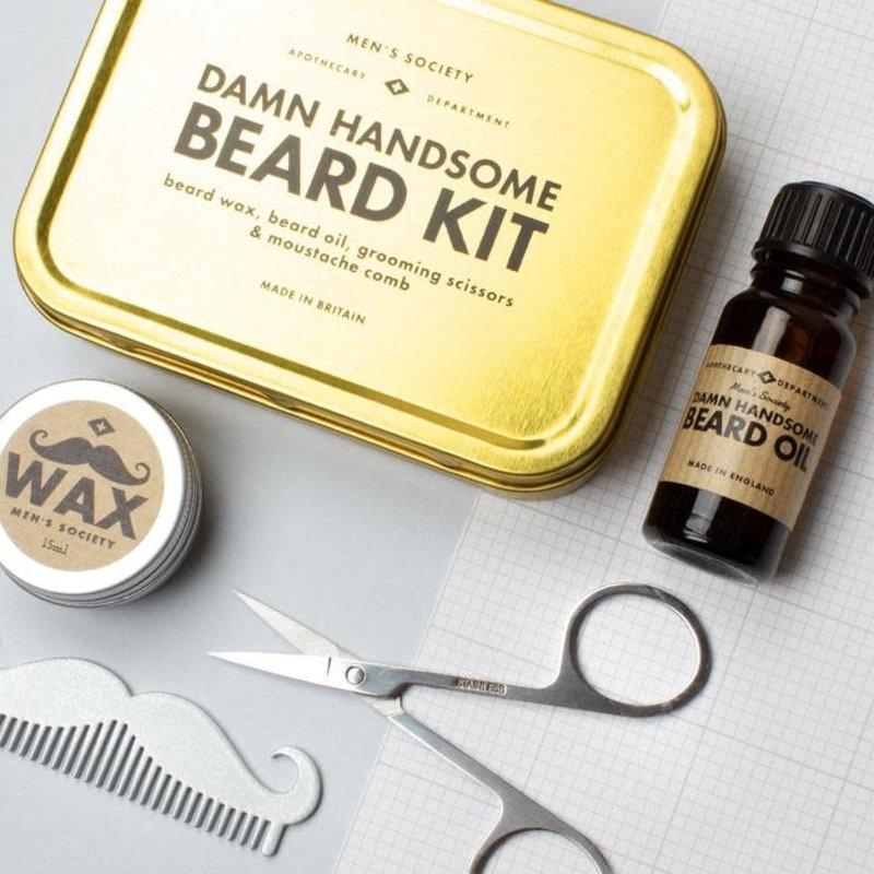 Men's Society Men's Society | Damn handsome beard kit