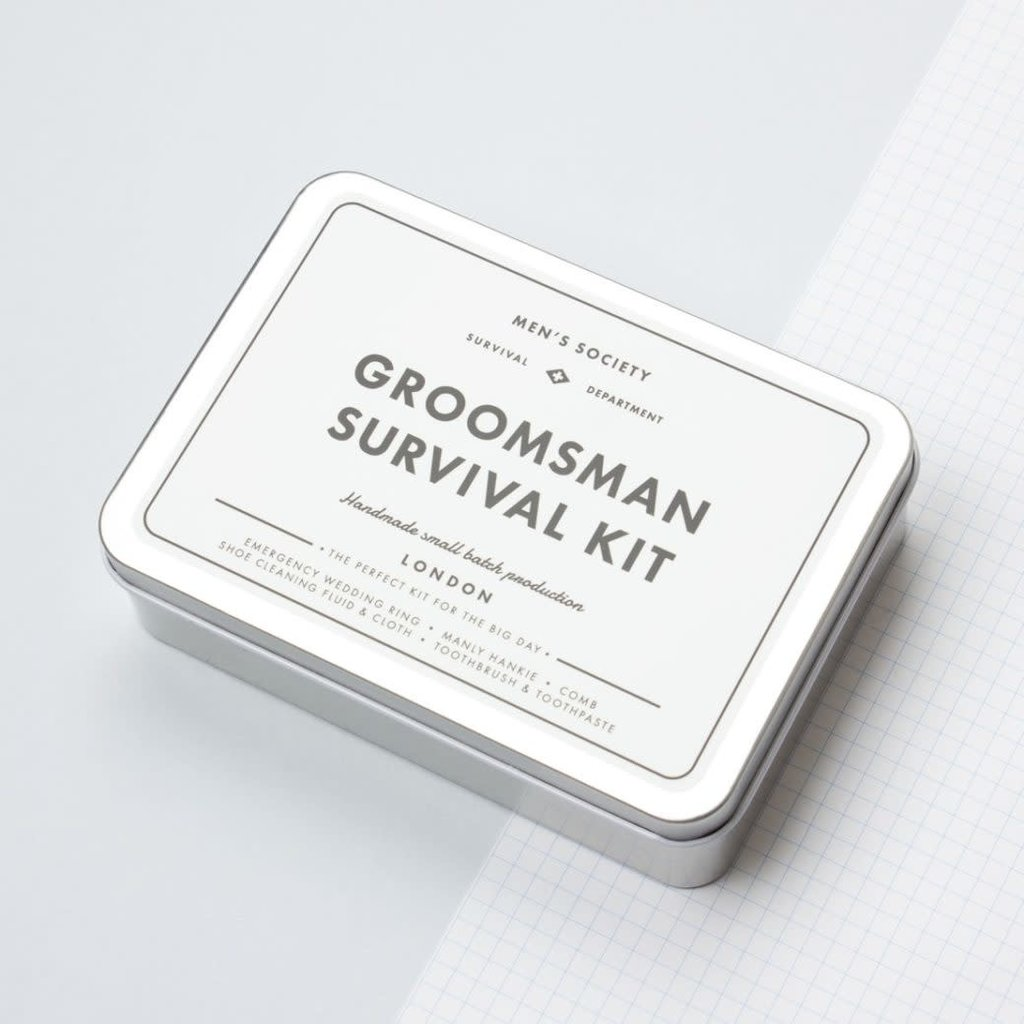 Men's Society Men's Society | Groomsman survival kit