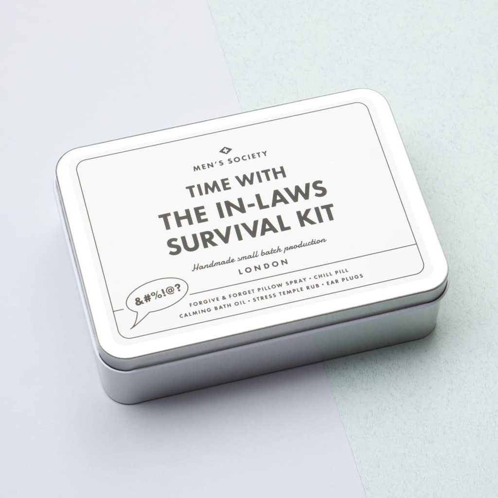 Men's Society Men's Society | Time with the in-laws survival kit