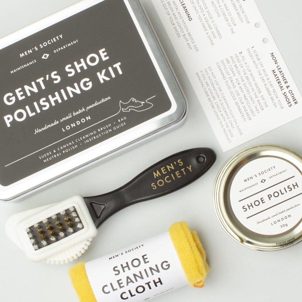 Men's Society Men's Society | Gent's shoe polishing kit