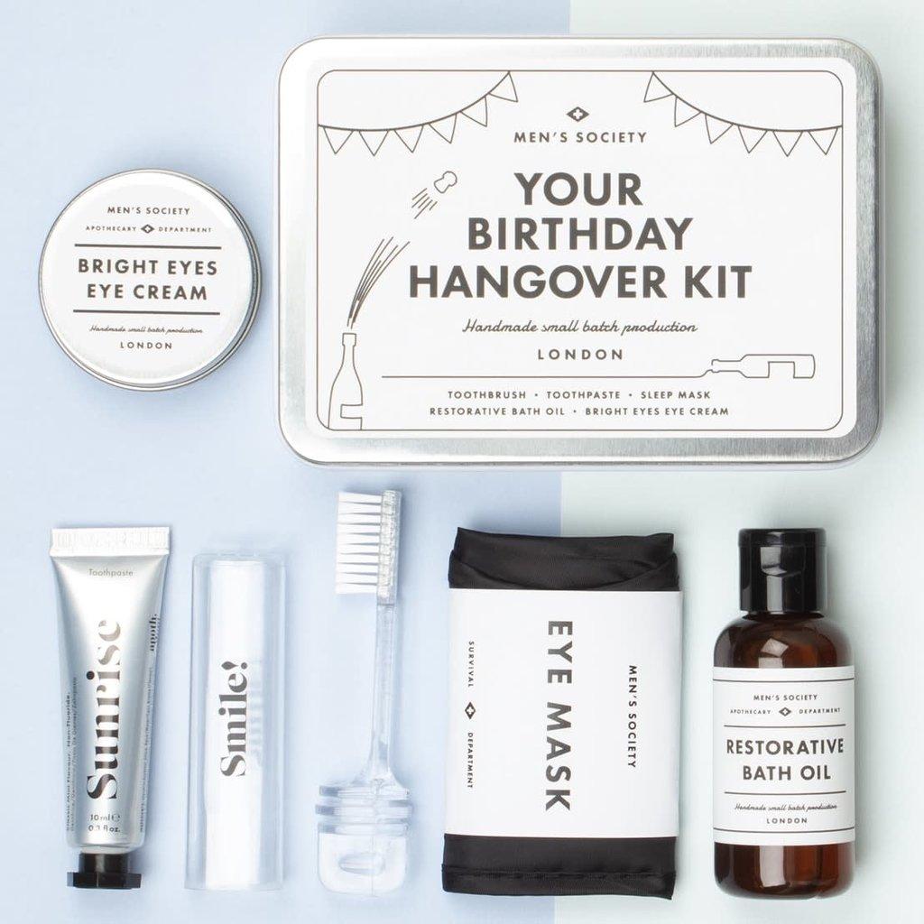 Men's Society Men's Society | Your Birthday hangover kit