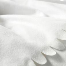 Verhuur - Fleece dekentje (wit)