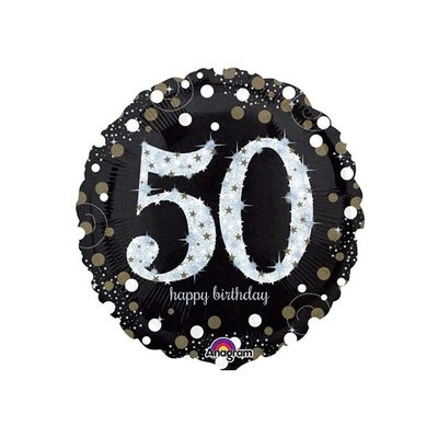 Sempertex Glitter Happy Birthday 50