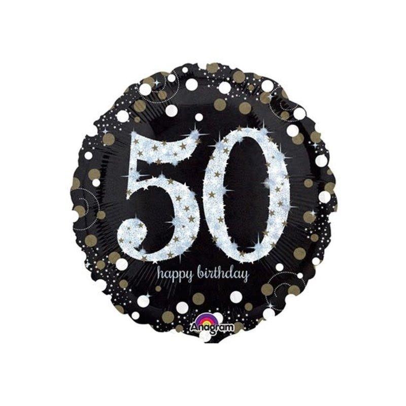 Sempertex Glitter Happy Birthday 50