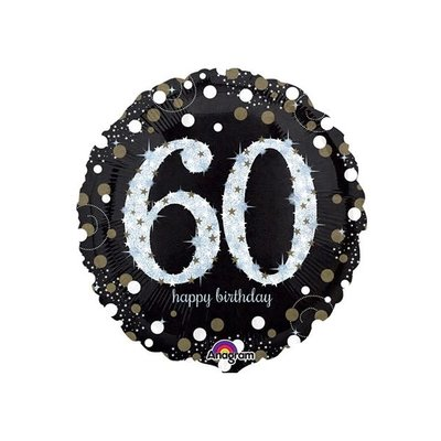 Sempertex Glitter Happy Birthday 60
