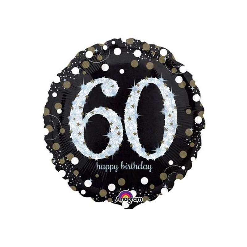 Sempertex Glitter Happy Birthday 60