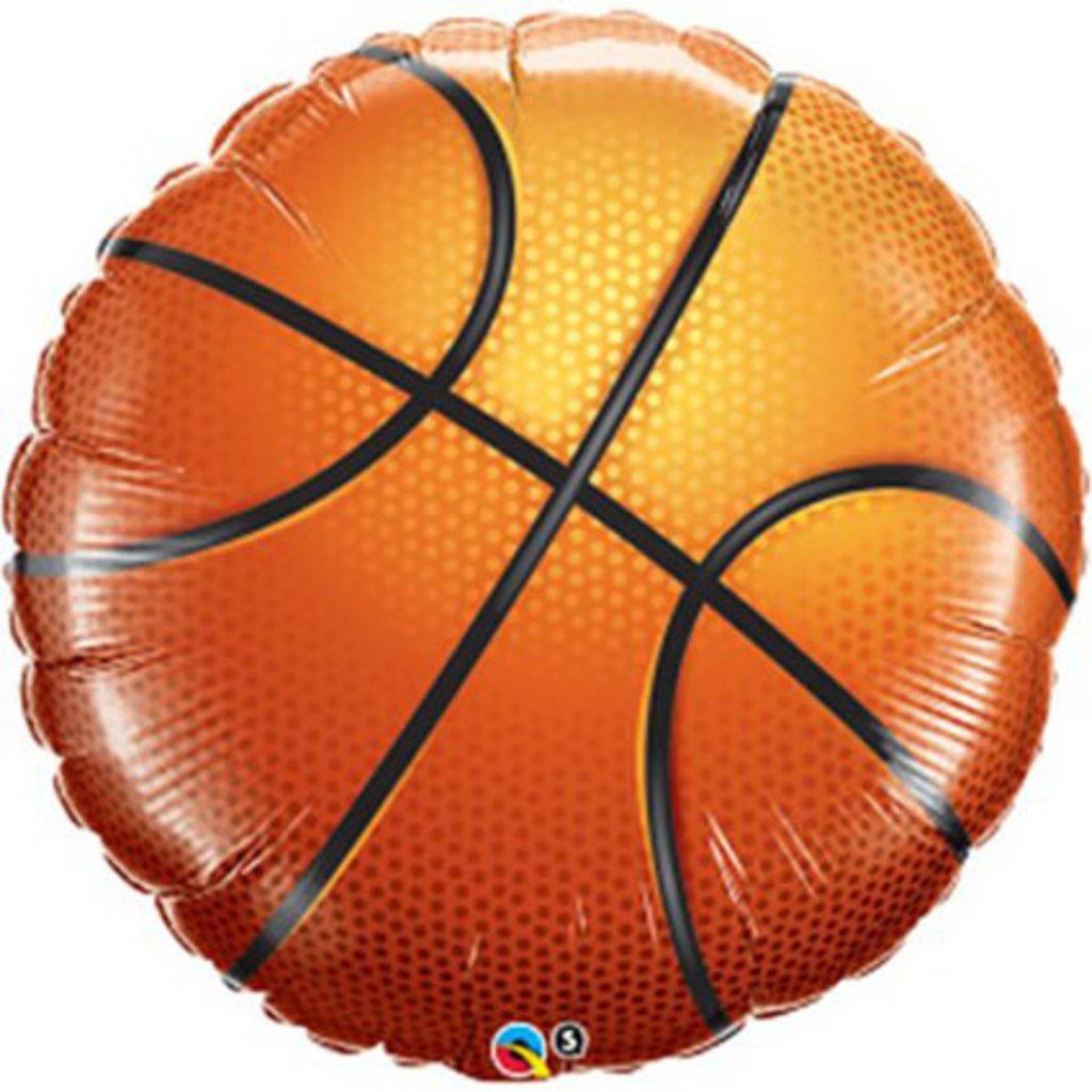 "Qualatex Basketbal - Folieballon (18"")"