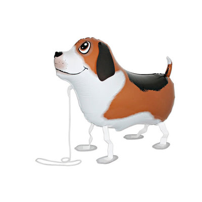 "Qualatex Pet Walker - Folieballon - Bobby the dog (25""/64cm)"