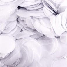 Paper dots confetti - White (100gr)