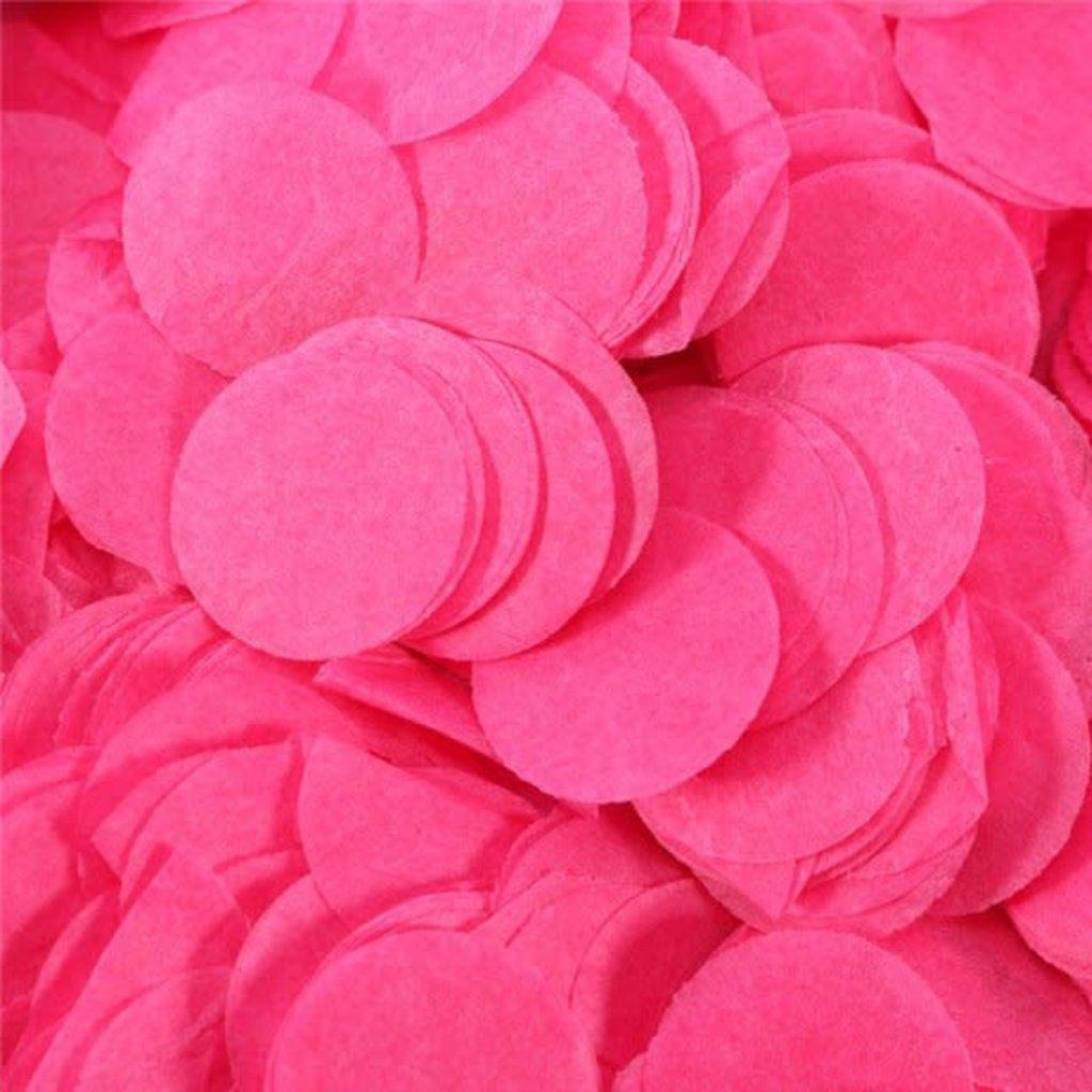 Paper dots confetti - Hot pink(100gr)