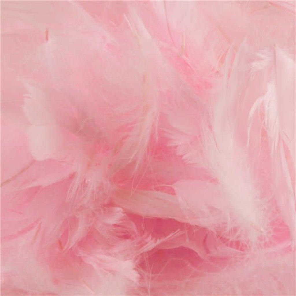 Roze veren (50gr)