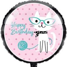 Creative Party Purr-fect Party - Folieballon (45cm)