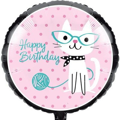 Creative Party Purr-fect Party - Folieballon (45cm)