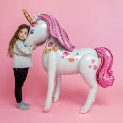 Airwalkers Balloon - Unicorn (116cm)
