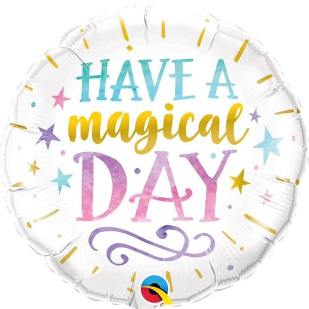 Qualatex Magical Day - Folieballon (45cm)
