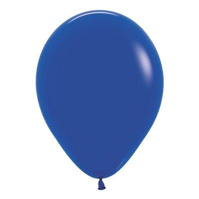 Sempertex Koningsblauwe ballonnnen 30cm (10st)