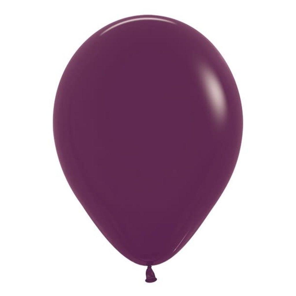 Sempertex Bordeaux ballonnnen 30cm (10st.)