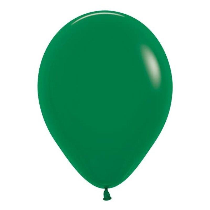 Sempertex Donker Groene ballonnnen 30cm (10st.)
