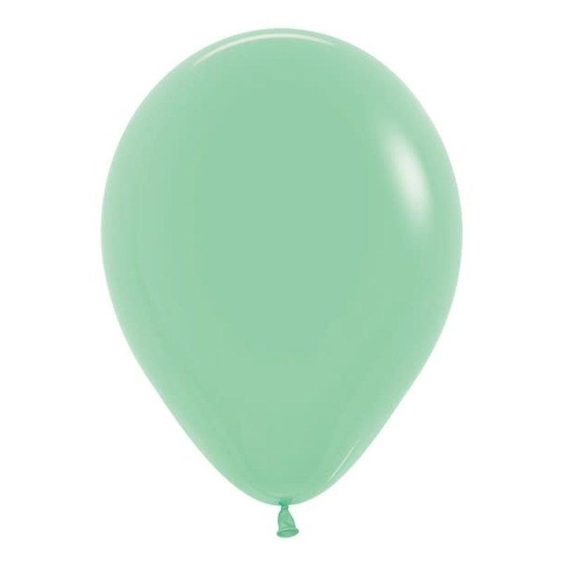 Sempertex Mintgroene ballonnnen 30cm (10st.)