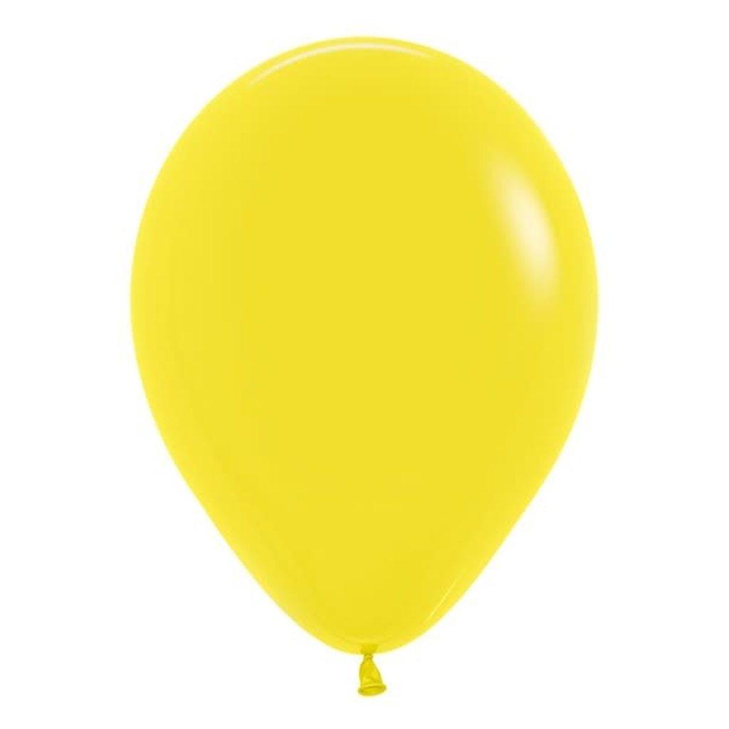 Sempertex Gele ballonnen 30cm (10st.)