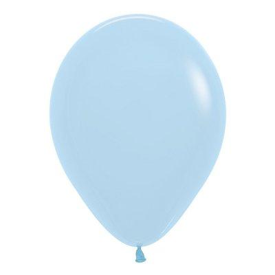 Sempertex Lichtblauwe ballonnen 30 cm (10 st)