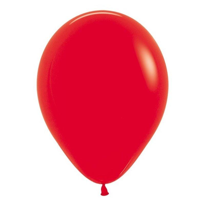 Sempertex Rode ballonnen 30 cm (10 st)