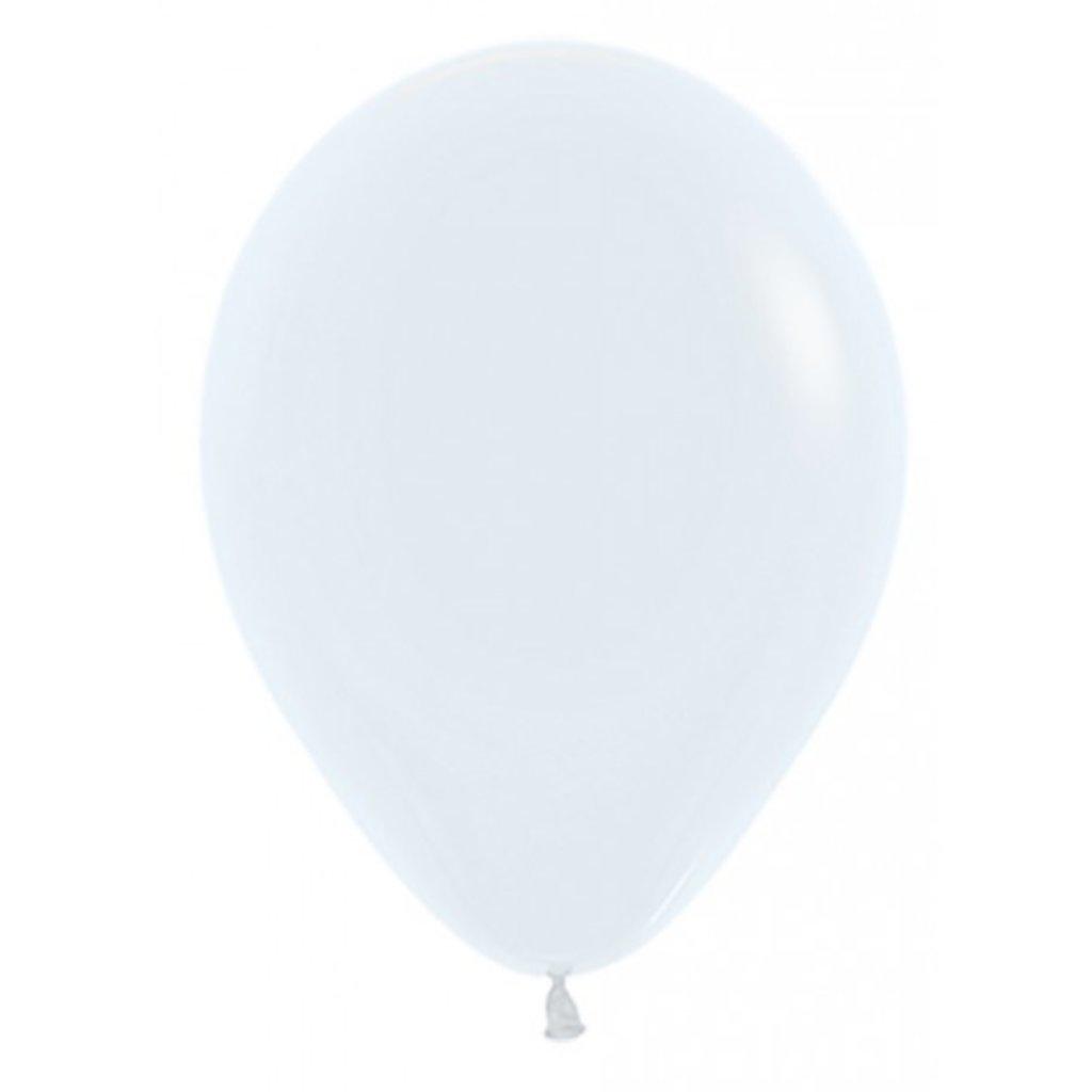 Sempertex Witte ballonnen 30 cm (10 st.)