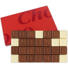 Chocotelegram® Chocolade telegram - Getuige