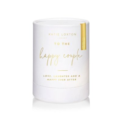 Katie Loxton Sentiment Candle - To the happy couple