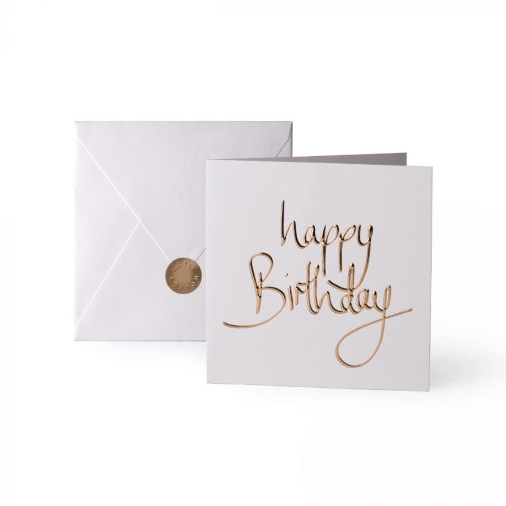 Katie Loxton Wenskaart - Happy Birthday