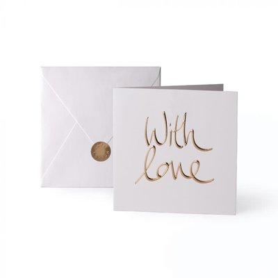 Katie Loxton Wenskaart - With love