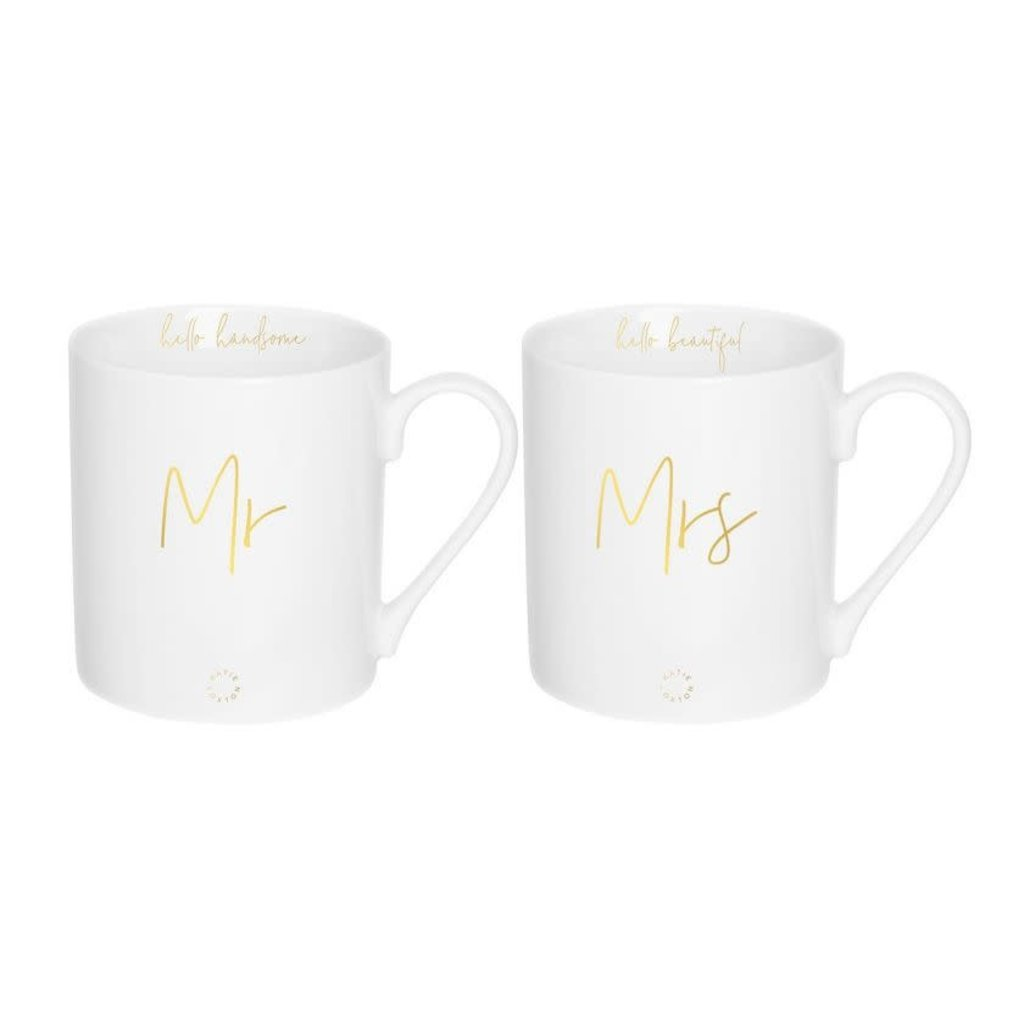 Katie Loxton Gift boxed mugs - Mr & Mrs