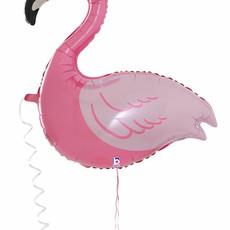 Pet Walker - Folieballon - Flamingo