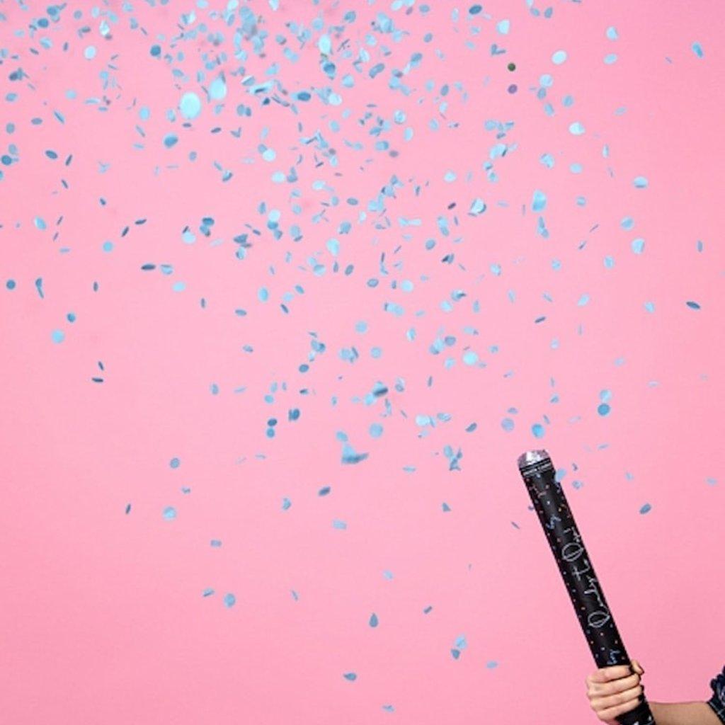 XL Confetti kanon 'Gender Reveal - Boy'