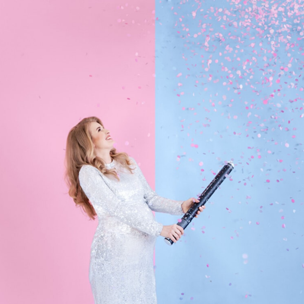XL Confetti kanon 'Gender Reveal - Girl'