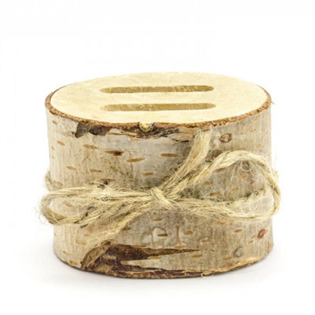 Partydeco Wooden ring bearer