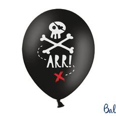 Piratenfeestje - Ballonnen 30cm (10st.)