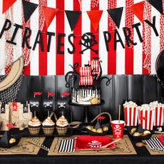 Piratenfeestje - Papieren bootjes (6st.)