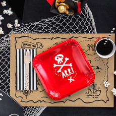 Piratenfeestje - Kartonnen bordjes (6st.)