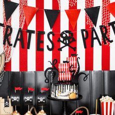 Piratenfeestje - Pirates Party banner