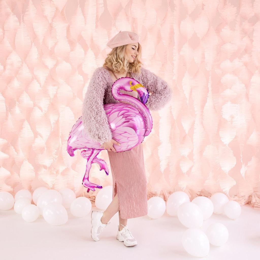 Partydeco Flamingo - Folieballon (70x95cm)