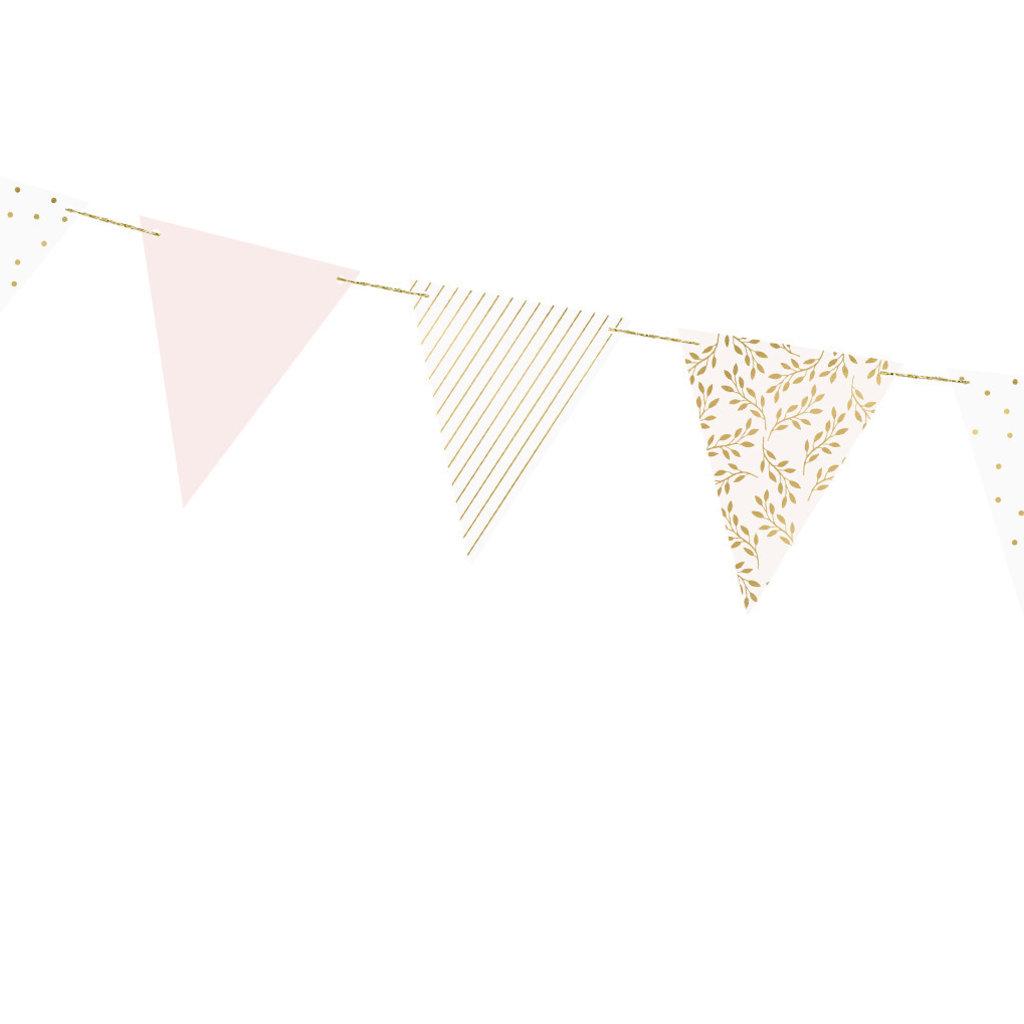 Pastel mix - Vlaggenslinger