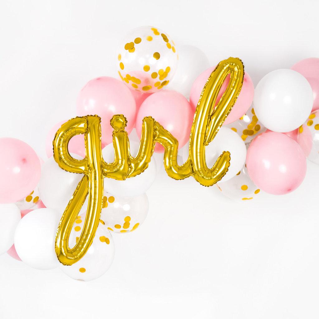 Girl - folieballon (77x70cm)
