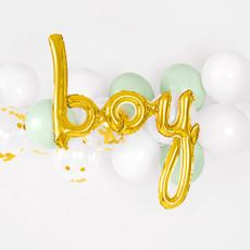 Boy - folieballon (63.5x74cm)