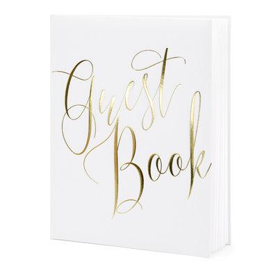 Gastenboek (20x24.5cm) - Goud