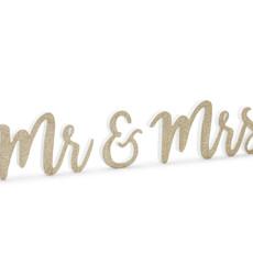 Mr & Mrs letters