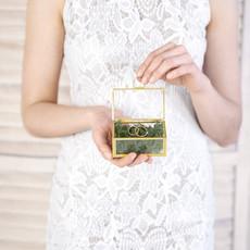Glass ring box