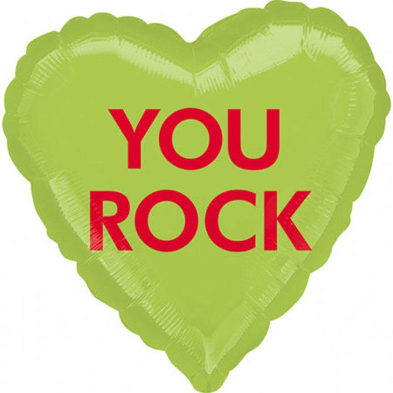 "Anagram You rock - Folieballon (17"")"